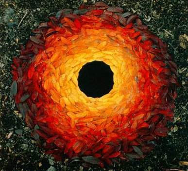 Goldsworthy red and yellow
