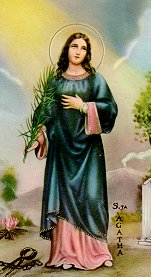[Icon of Saint Agatha]
