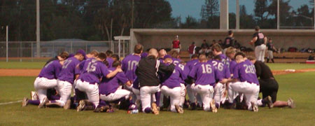 Bluffton University Baseball Team