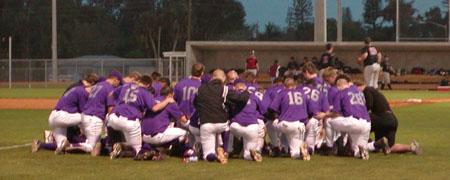 Bluffton University Baseball Team